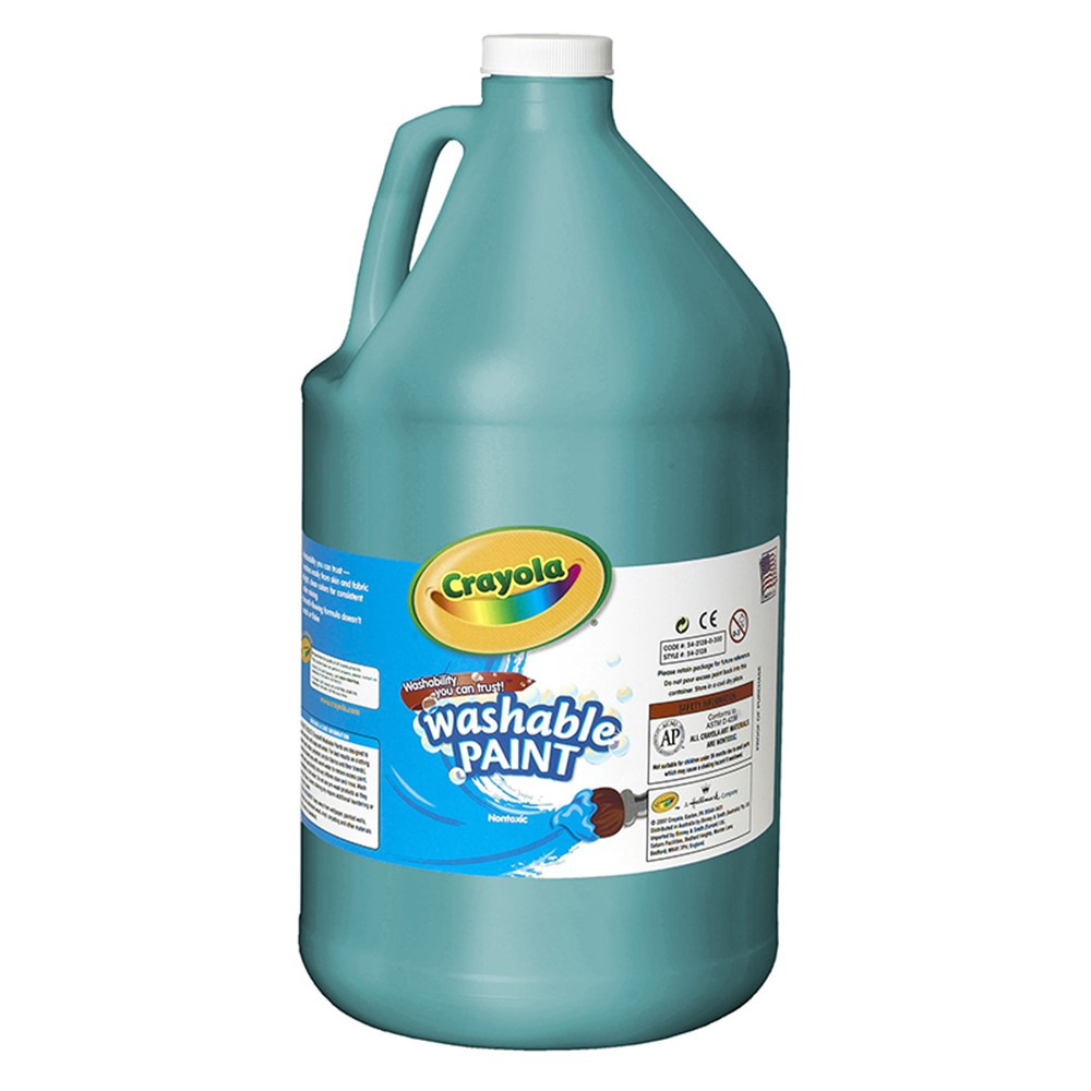 BIN212848 - Washable Paint Gallon Turquoise in Paint