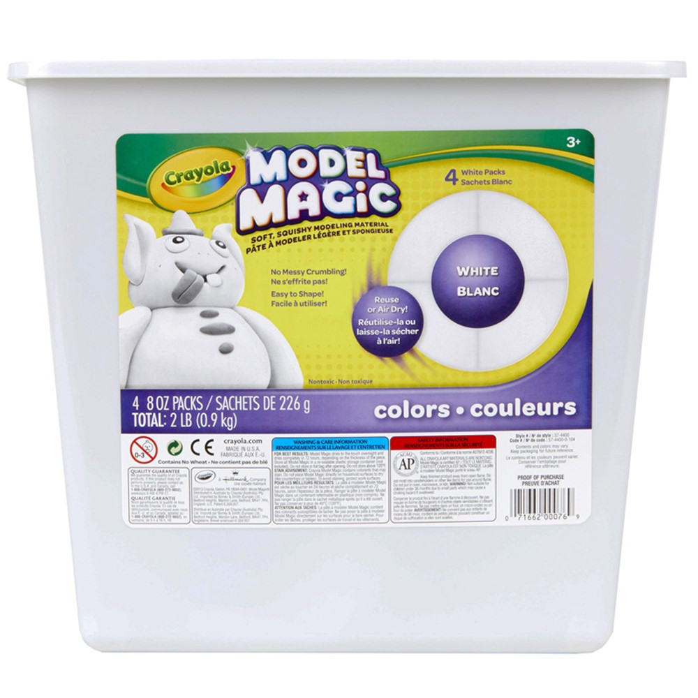 BIN4400 - 2Lb Resealable Bucket Model Magic Modeling Compound in Clay & Clay Tools
