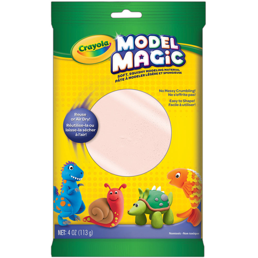 BIN4433 - Model Magic 4 Oz Naturals Bisque Modeling Compound in Clay & Clay Tools