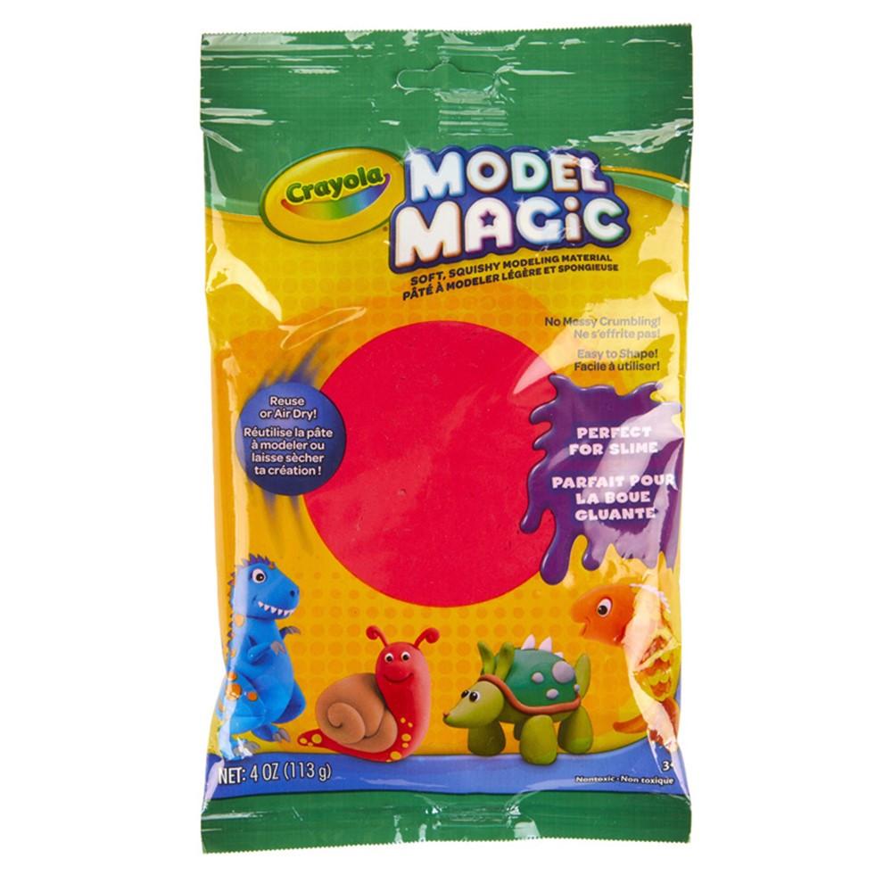 BIN4438 - Model Magic 4 Oz Red in Clay & Clay Tools