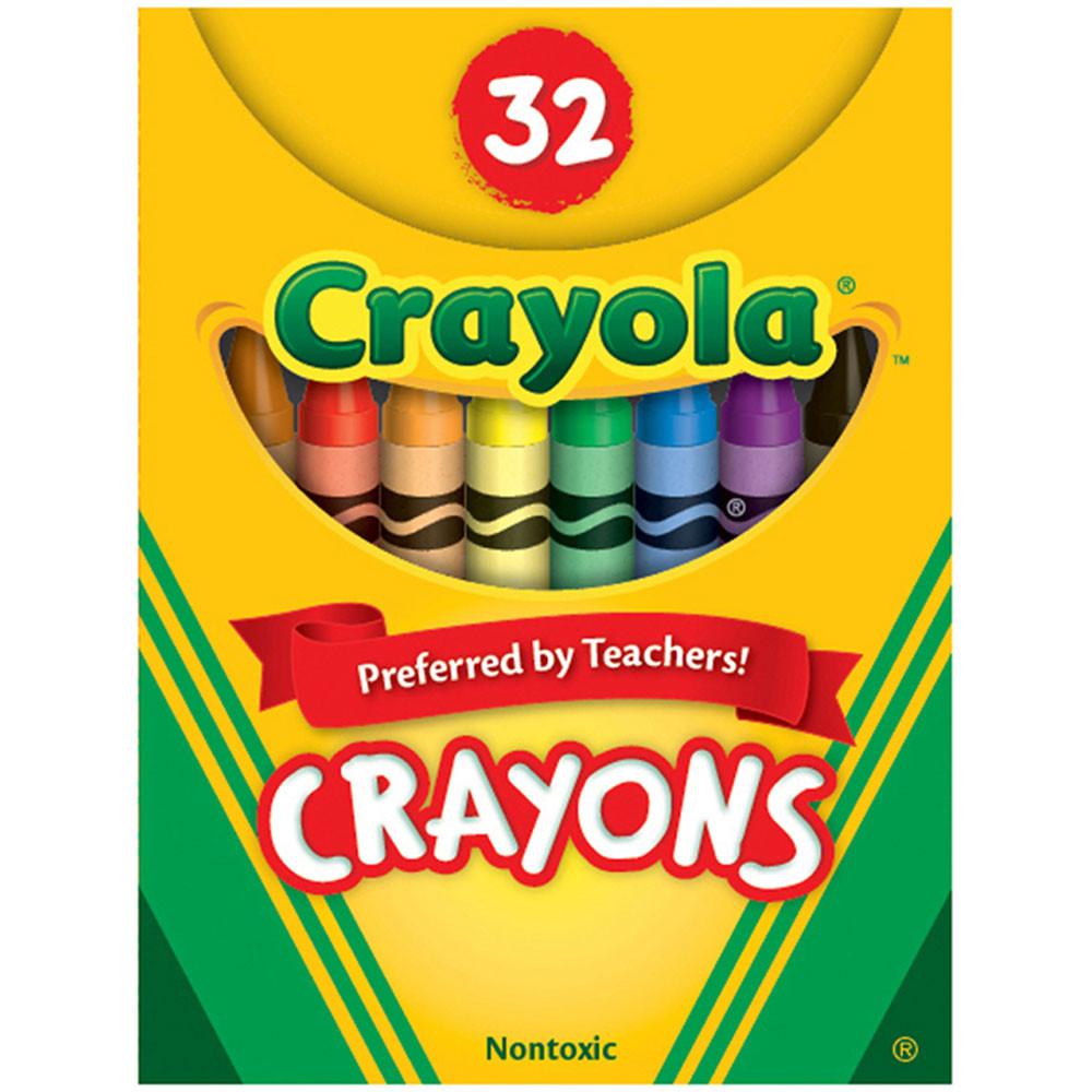 BIN520322 - Crayola Crayons 32Ct Tuck Box in Crayons