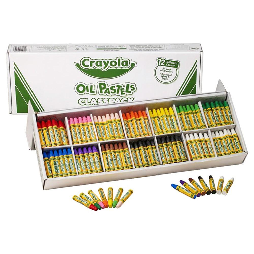 BIN524629 - Crayola Oil Pastels 336Ct Classpack in Pastels