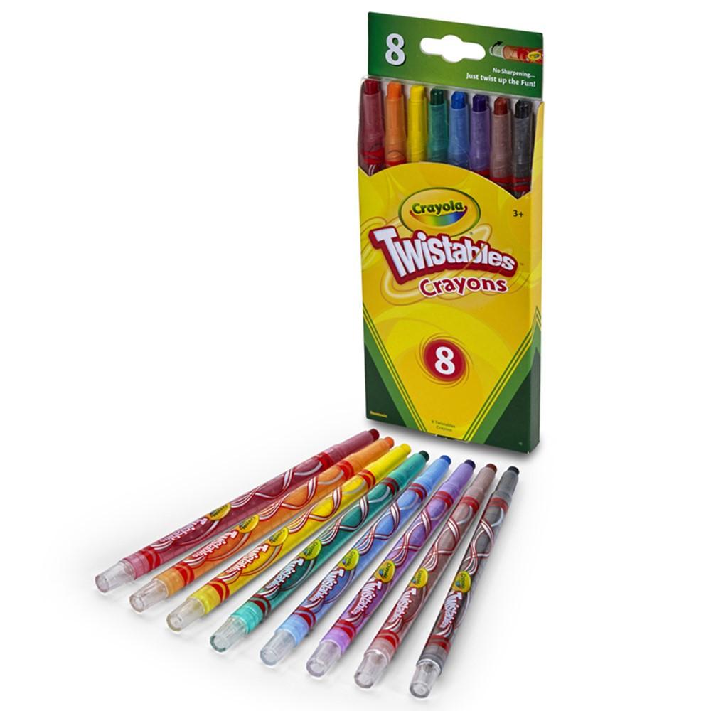 BIN527408 - Crayola Twistables Crayons 8 Ct in Crayons