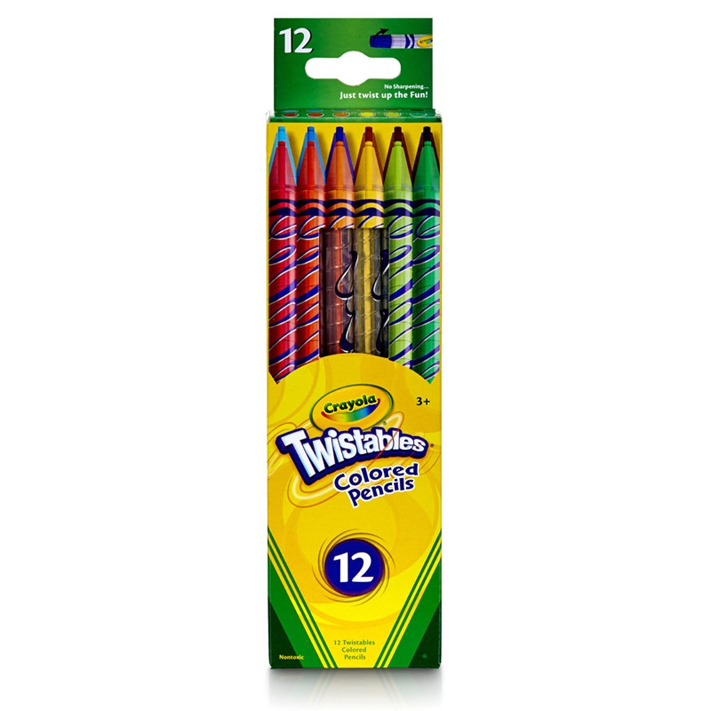 Crayola Twistables 12 Ct Colored Pencils - BIN687408 ...