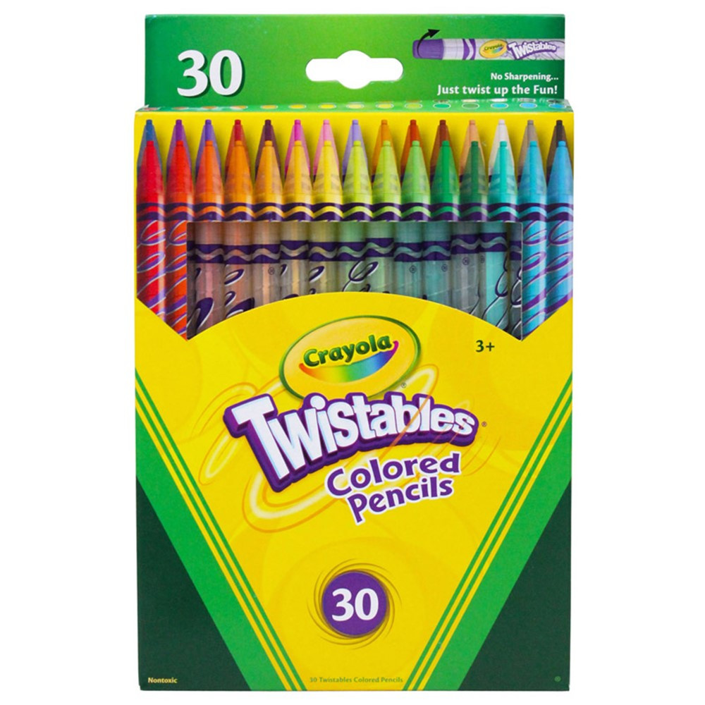 BIN687409 - Crayola Twistables 30 Ct Colored Pencils in Colored Pencils