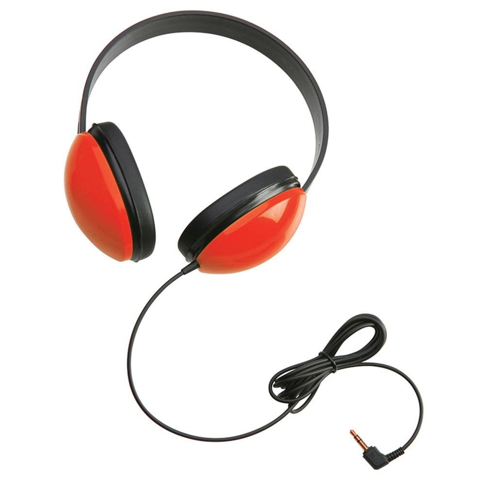 CAF2800RD - Listening First Stereo Headphones Red in Headphones