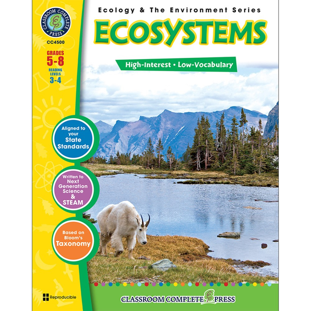 CCP4500 - Ecology & The Environment Series Ecosystems in Environment