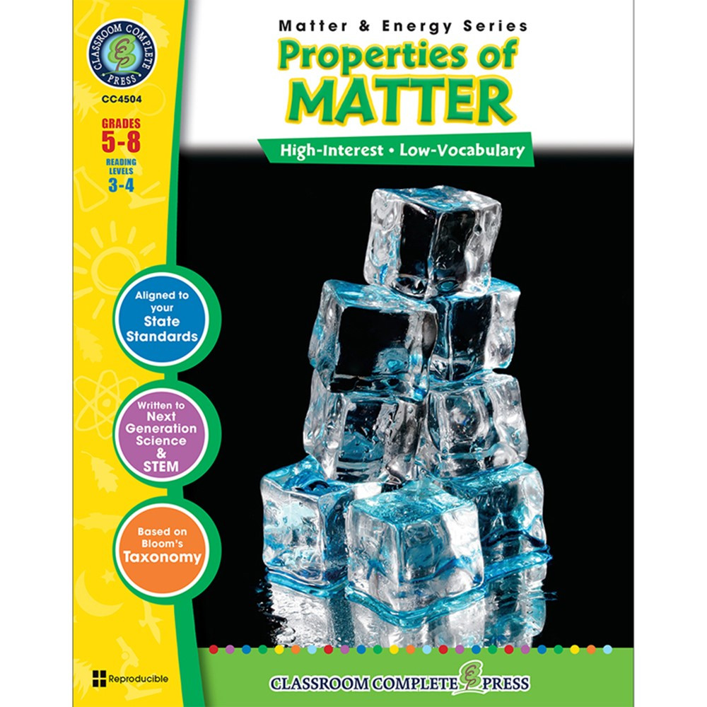 CCP4504 - Matter & Energy Series Properties Of Matter in Energy
