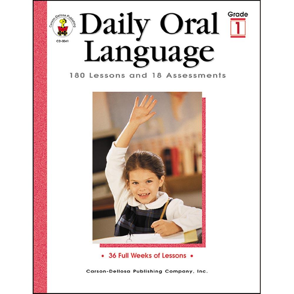 CD-0041 - Daily Oral Language Gr 1 in Grammar Skills