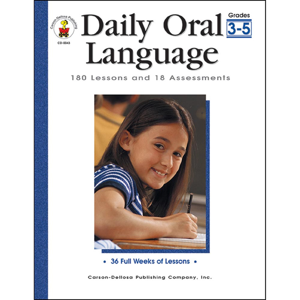 CD-0043 - Daily Oral Language Gr 3-5 in Language Skills