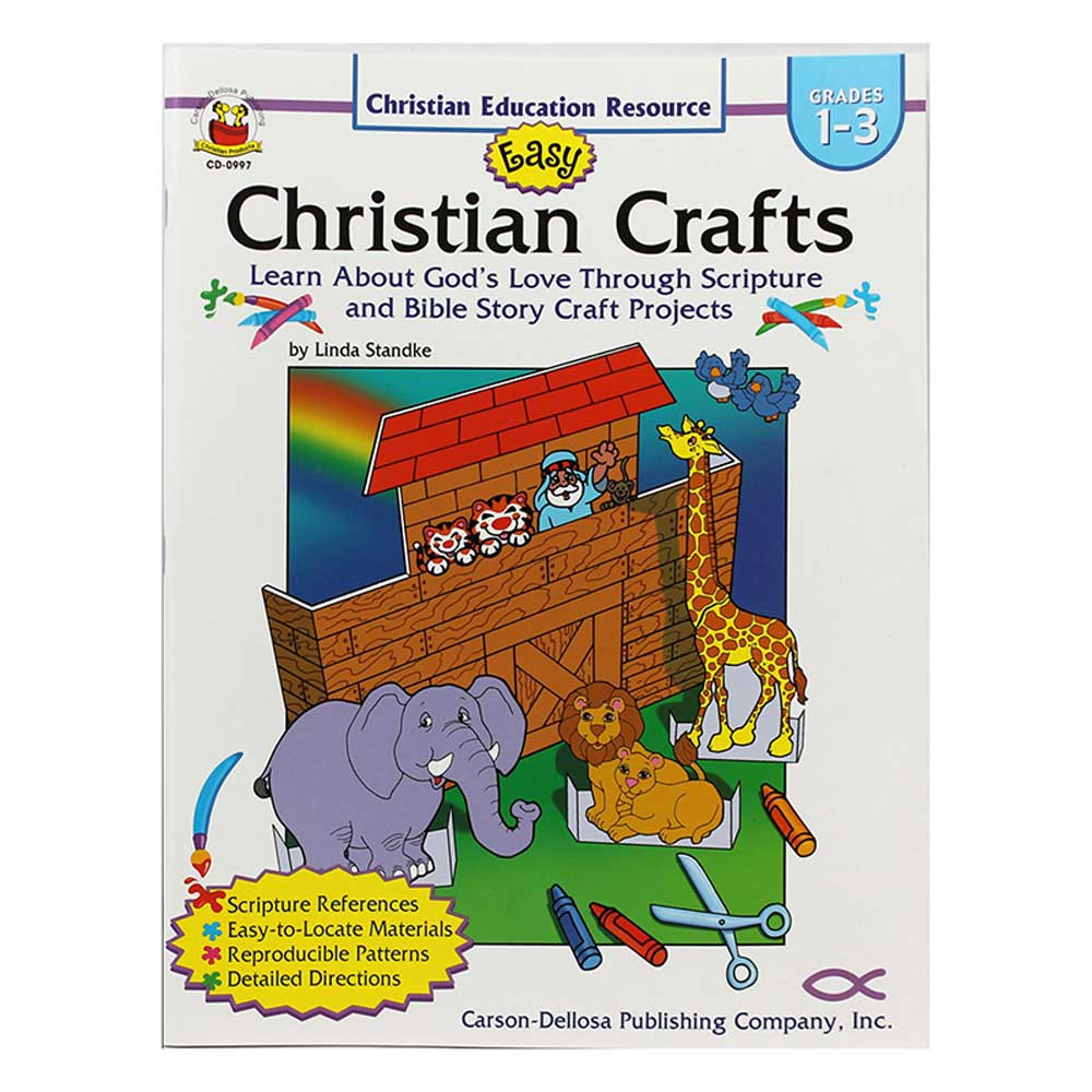 CD-0997 - Easy Christian Crafts Gr 1-3 in Inspirational