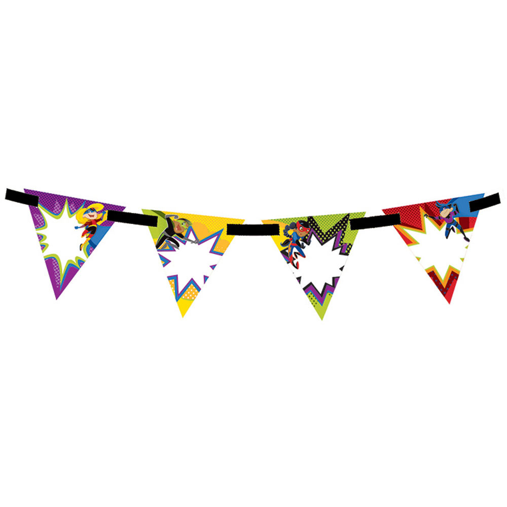 CD-102040 - Super Power Bunting Banner in Banners