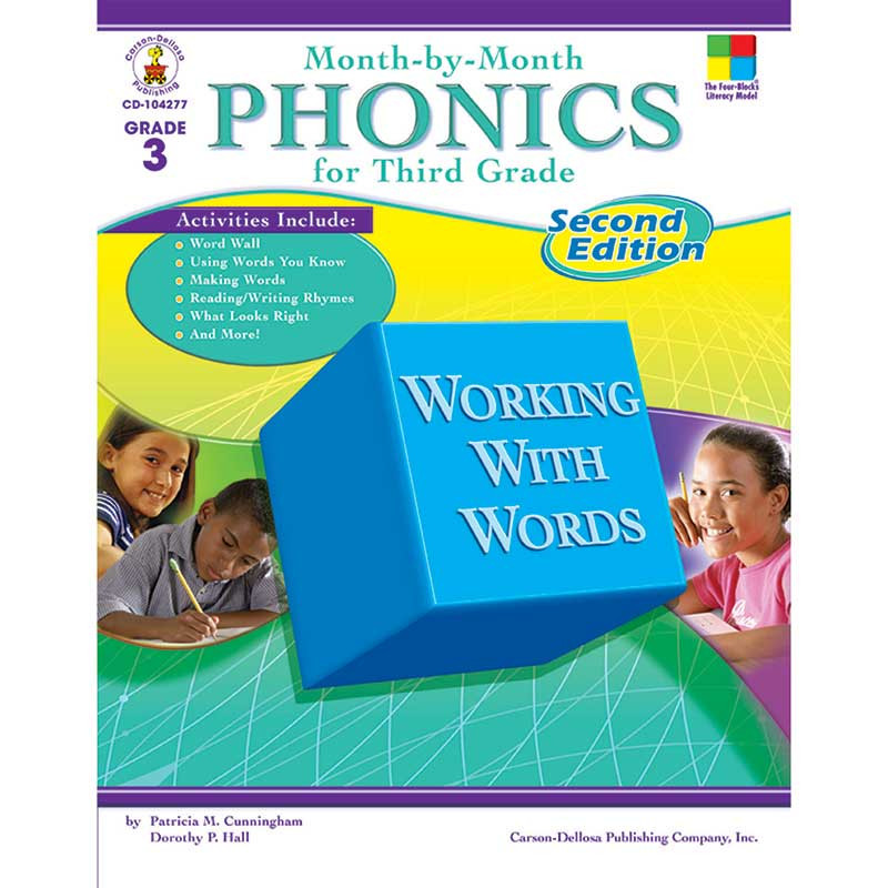 CD-104277 - Month-By-Month Phonics 2Nd Edition Gr 3 in Phonics