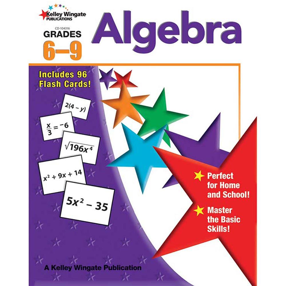 CD-104316 - Algebra Gr 6-9 in Algebra