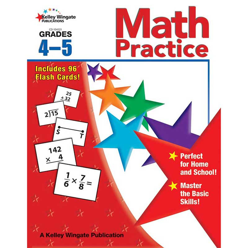 CD-104321 - Math Practice Gr 4-5 in Activity Books