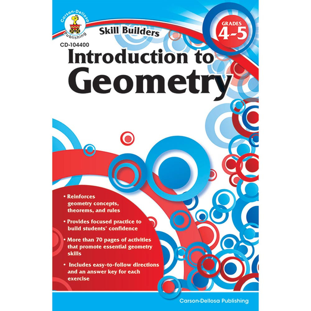 CD-104400 - Skill Builders Introduction To Geometry in Geometry
