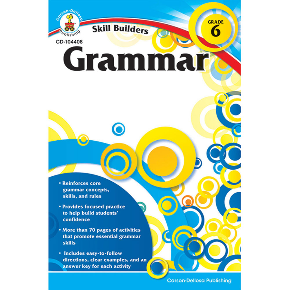 CD-104408 - Skill Builders Grammar Gr 6 in Grammar Skills