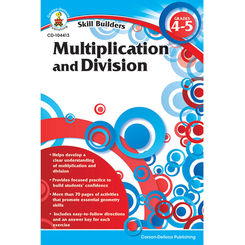 CD-104413 - Skill Builders Multiplication & Divison in Multiplication & Division