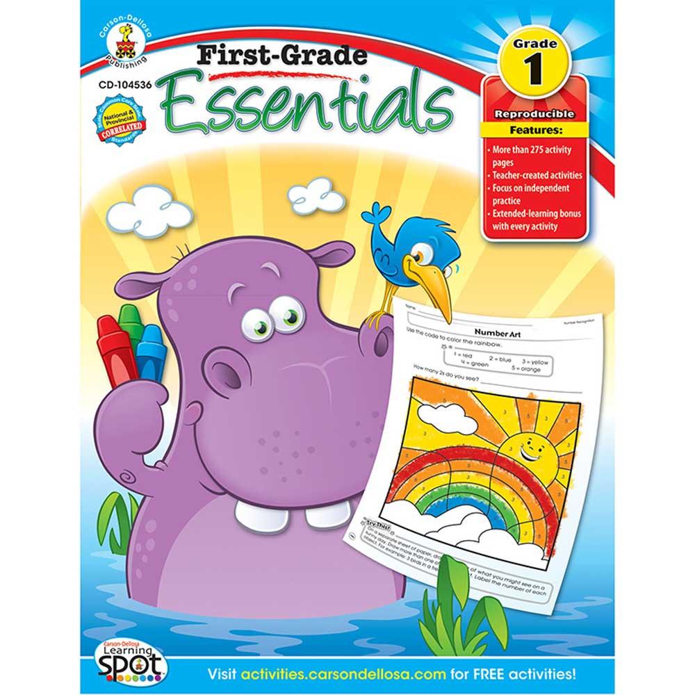CD-104536 - First Grade Essentials in Cross-curriculum Resources