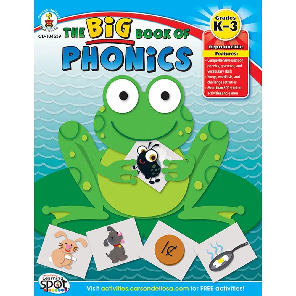CD-104539 - The Big Book Of Phonics in Phonics