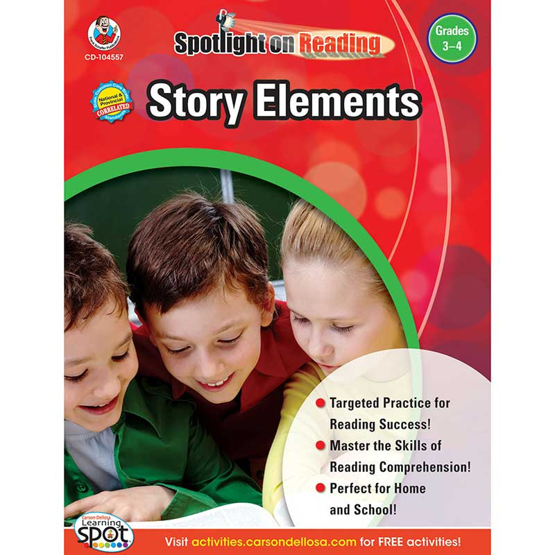 CD-104557 - Story Elements Gr 3-4 in Reading Skills