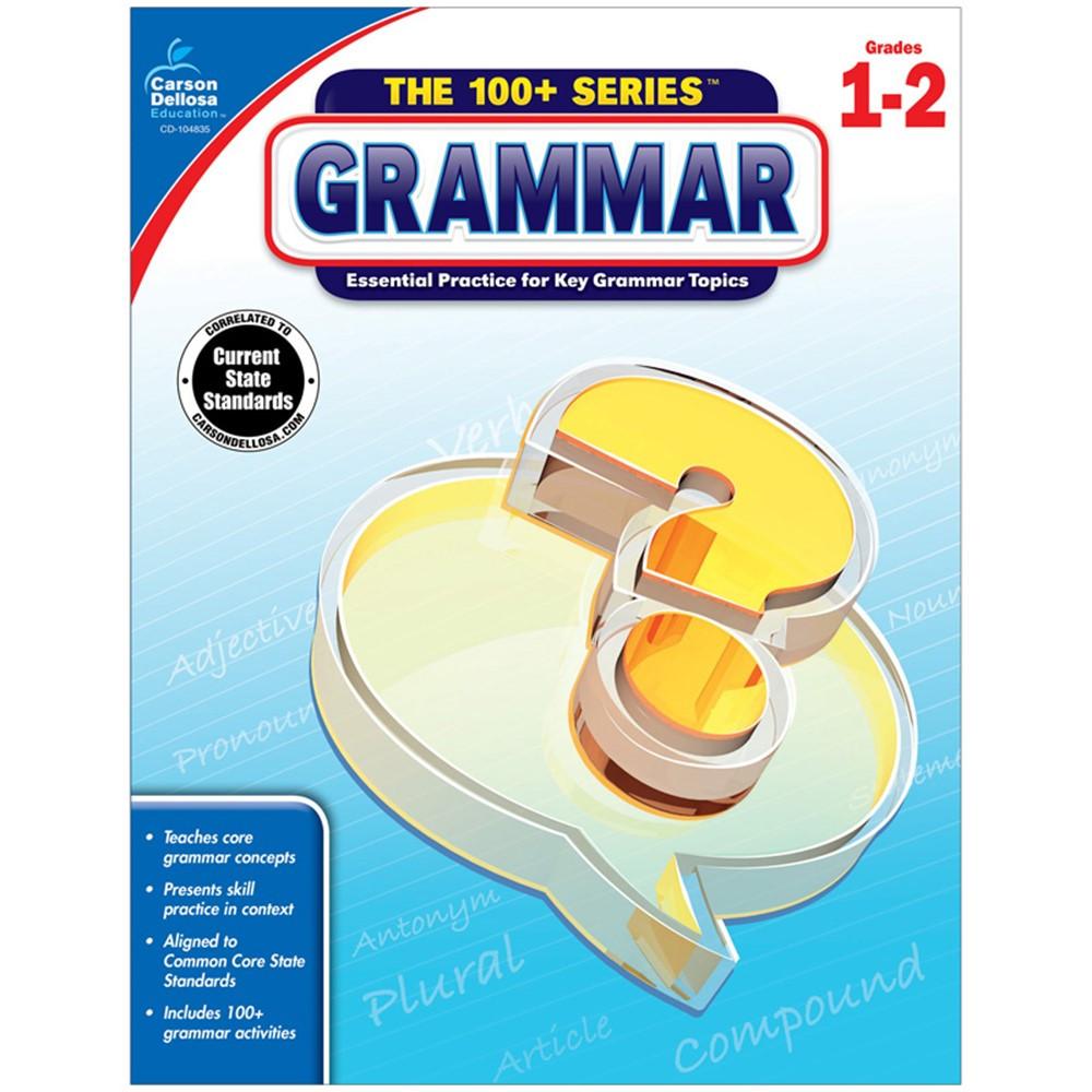 CD-104835 - 100 Plus Grammar Gr 1-2 in Grammar Skills
