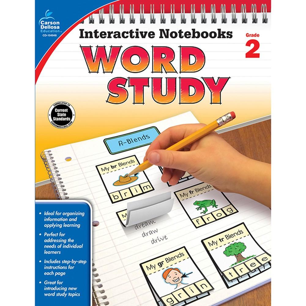 CD-104948 - Word Study Book Grade 2 in Activities