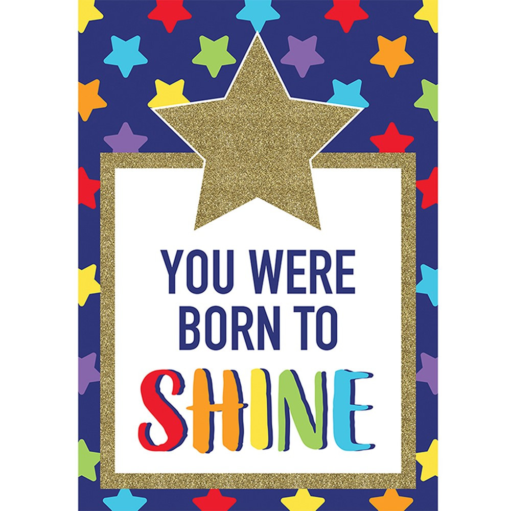 CD-106000 - You Were Born To Shine Sparkle And Shine in Motivational