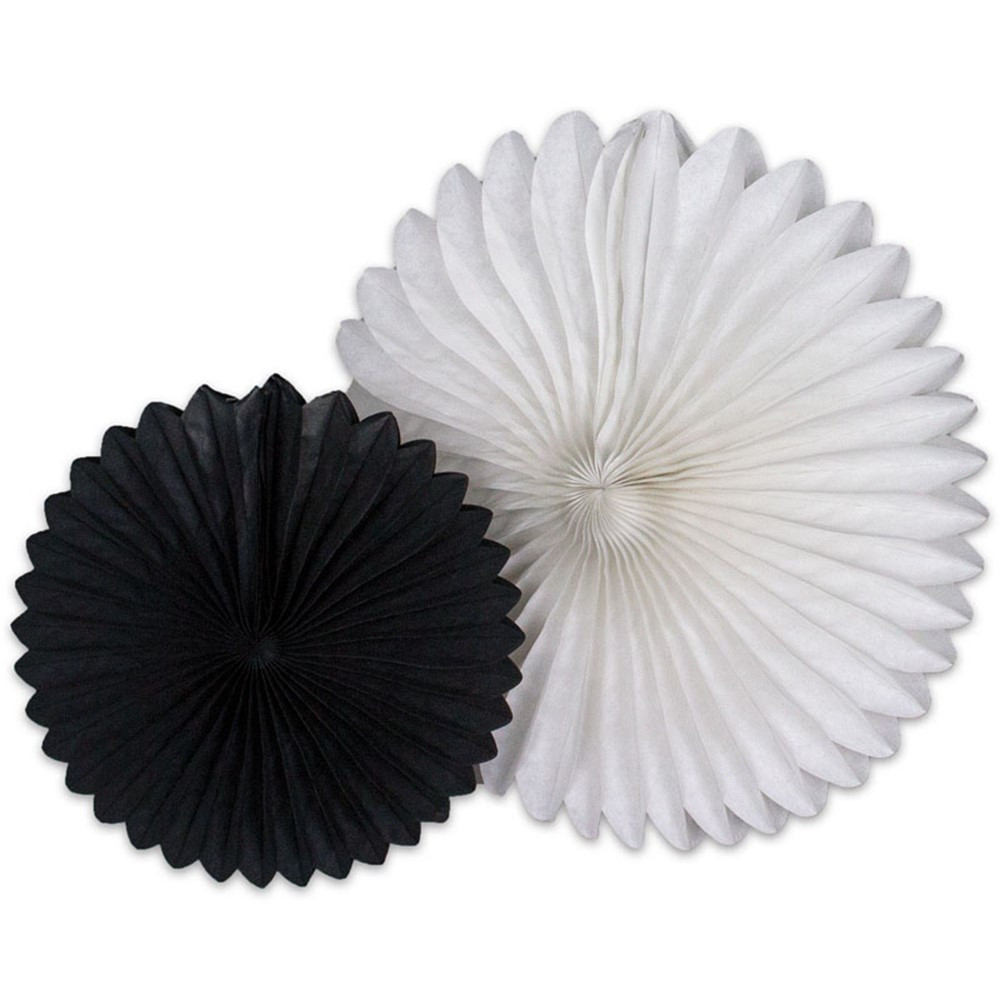 CD-107000 - Black And White Fans in Accents