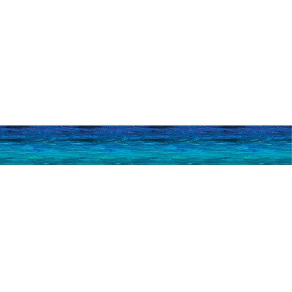 CD-108065 - Shades Of Blue Straight Border in Border/trimmer