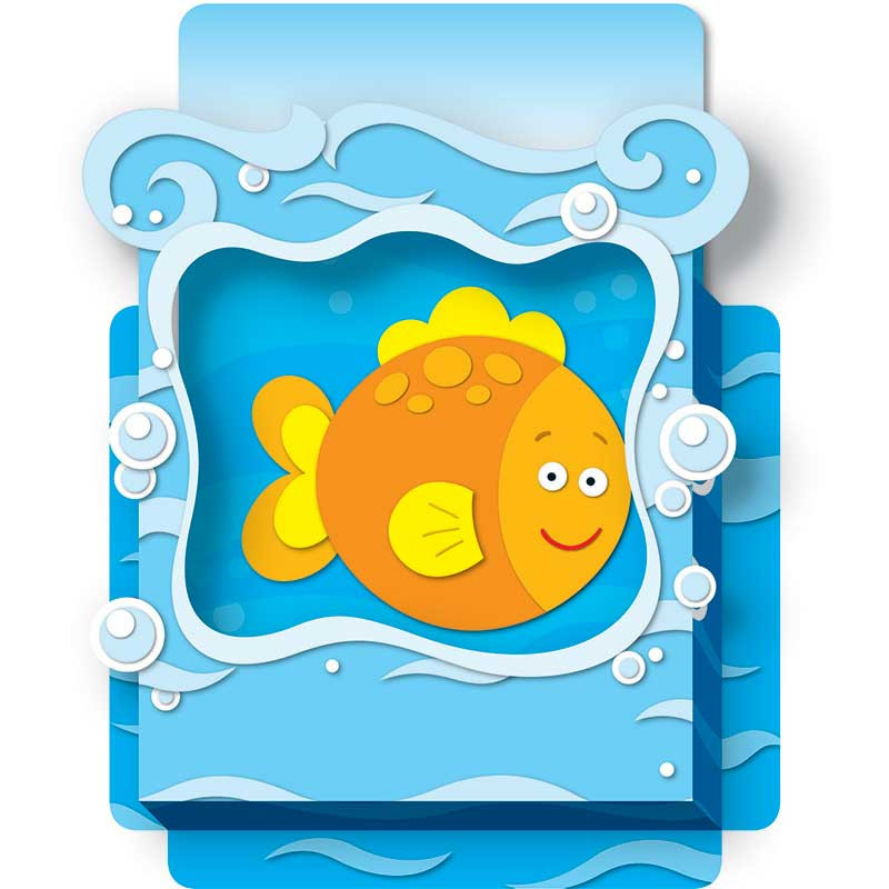 CD-108072 - Sea Life Pop Its Pocket in Organizer Pockets