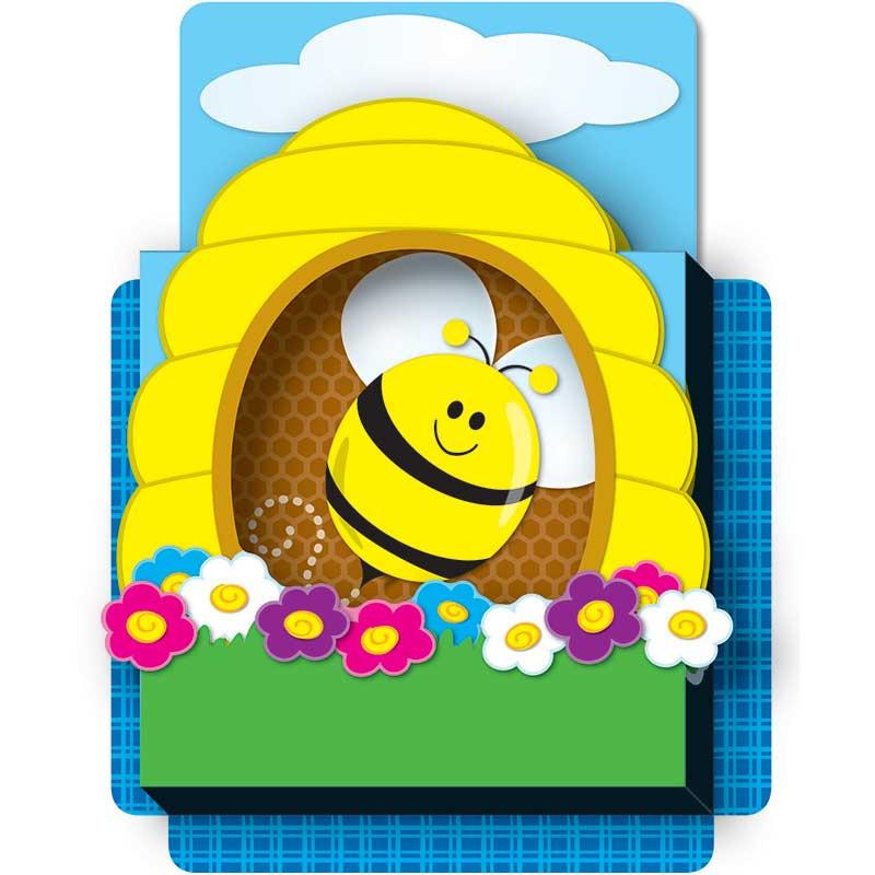 CD-108073 - Bees Pop Its Pocket in Organizer Pockets