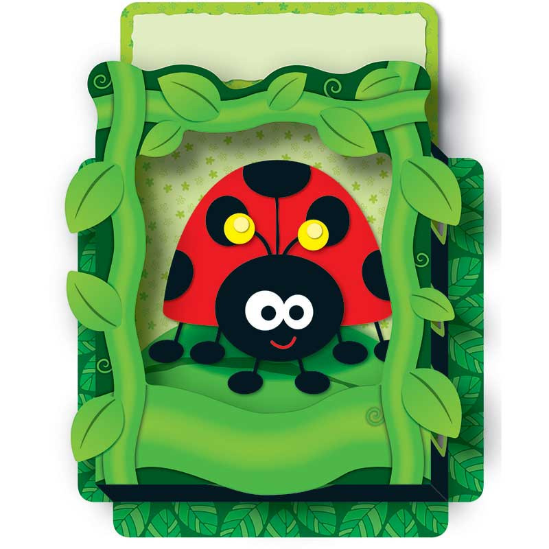 CD-108074 - Ladybugs Pop Its Pocket in Organizer Pockets