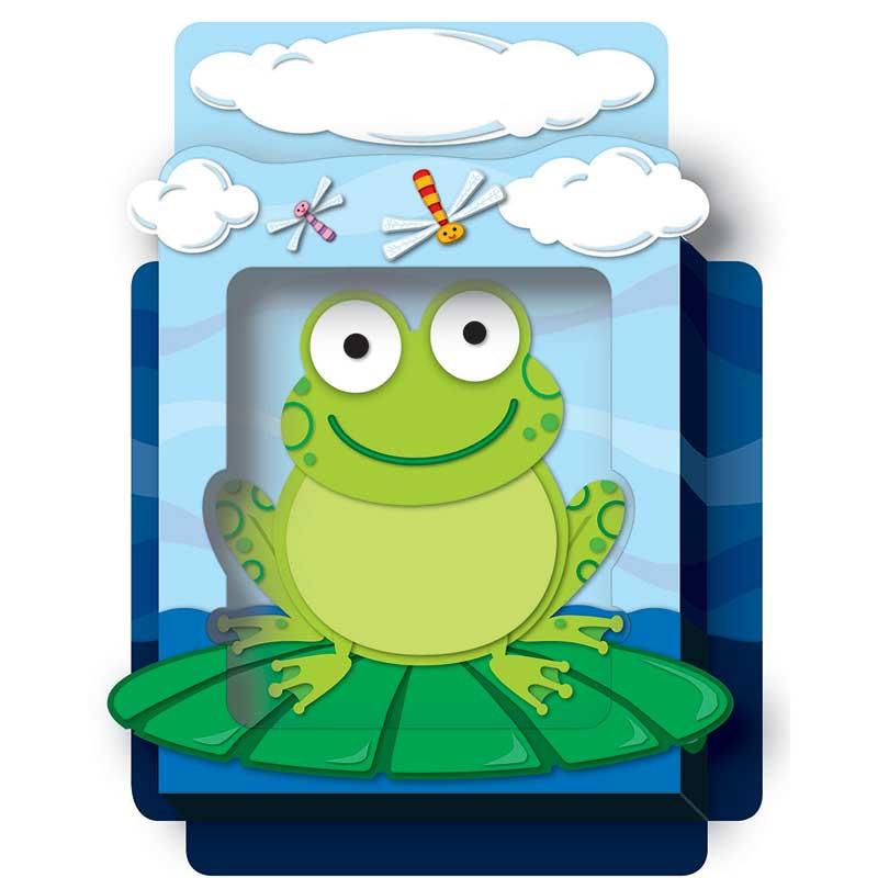 CD-108075 - Frogs Pop Its Pocket in Organizer Pockets