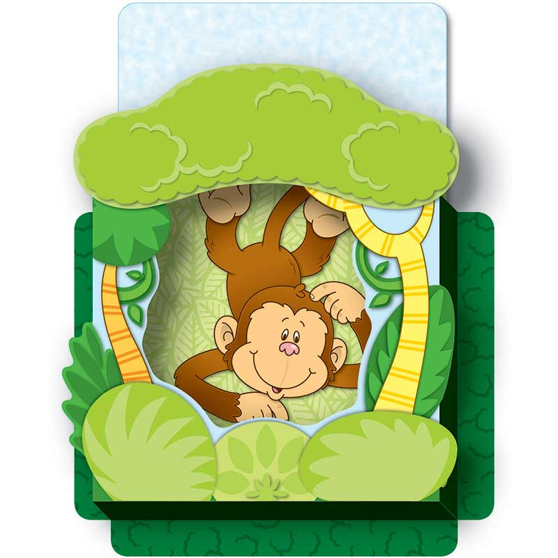CD-108076 - Monkeys Pop Its Pocket in Organizer Pockets