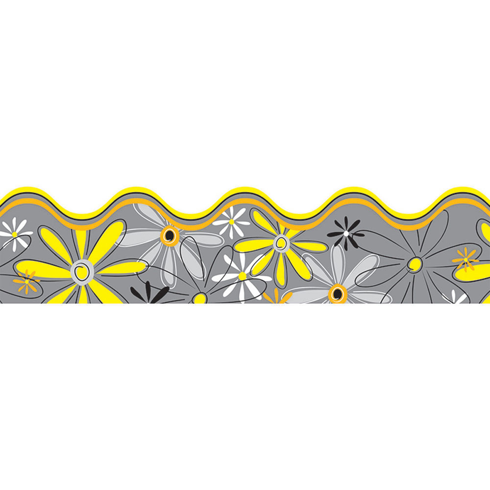 CD-108079 - Delightful Daisies Border in Border/trimmer