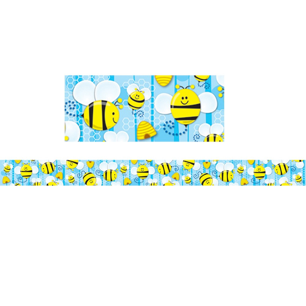 CD-108113 - Bees Border in Border/trimmer