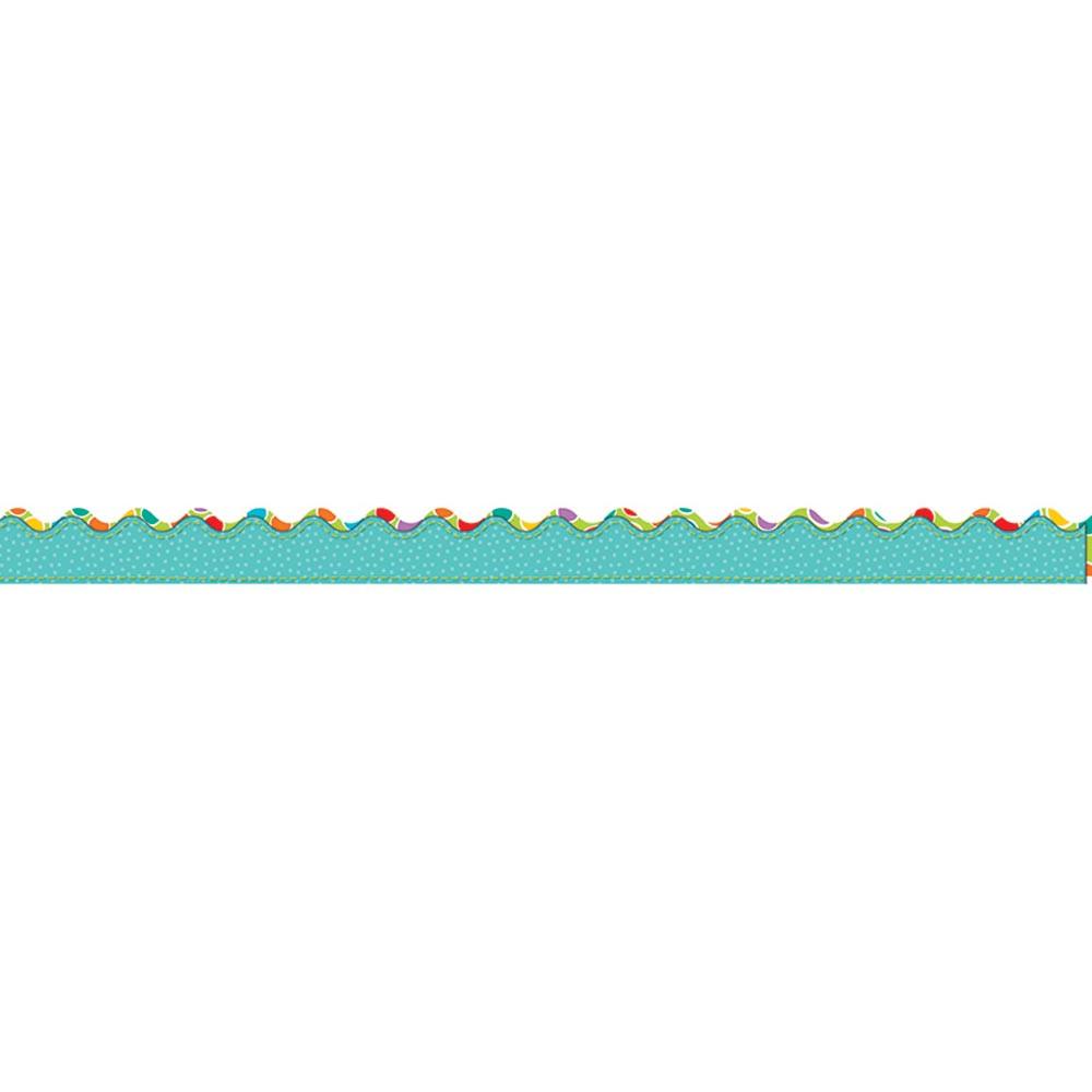 CD-108182 - Fresh Sorbet Border Scalloped in Border/trimmer