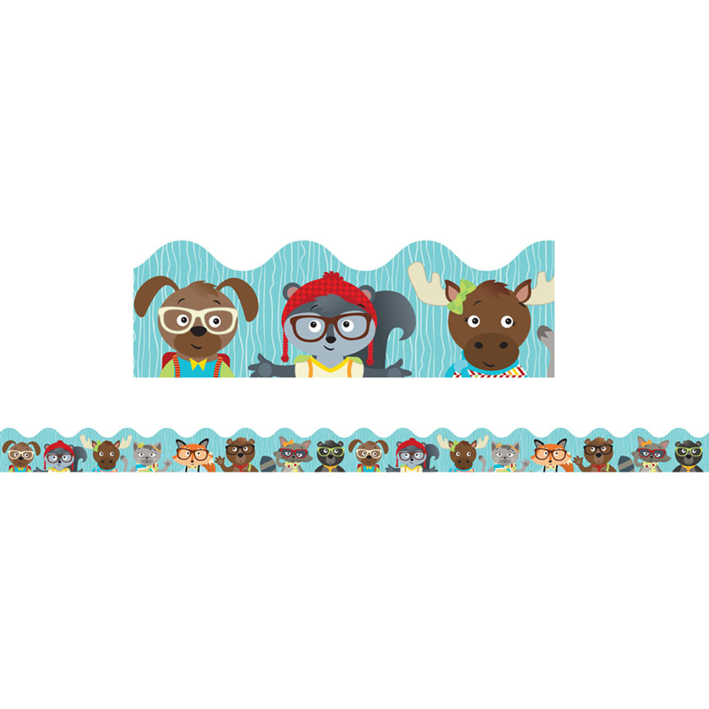 CD-108263 - Hipster Pals Scalloped Borders in Border/trimmer