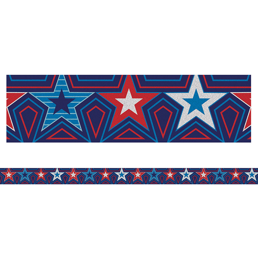 CD-108284 - Star Spangled Straight Borders in Border/trimmer