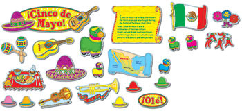 CD-110056 - Cinco De Mayo Bb Sets Pk-5 Mini Seasonal in Multilingual
