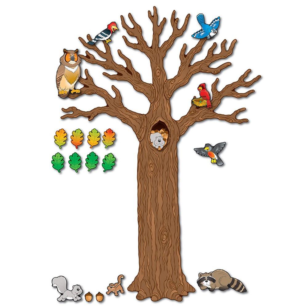 CD-110078 - Big Tree W/Animals Bb Sets Gr K-5 Decorative in Science