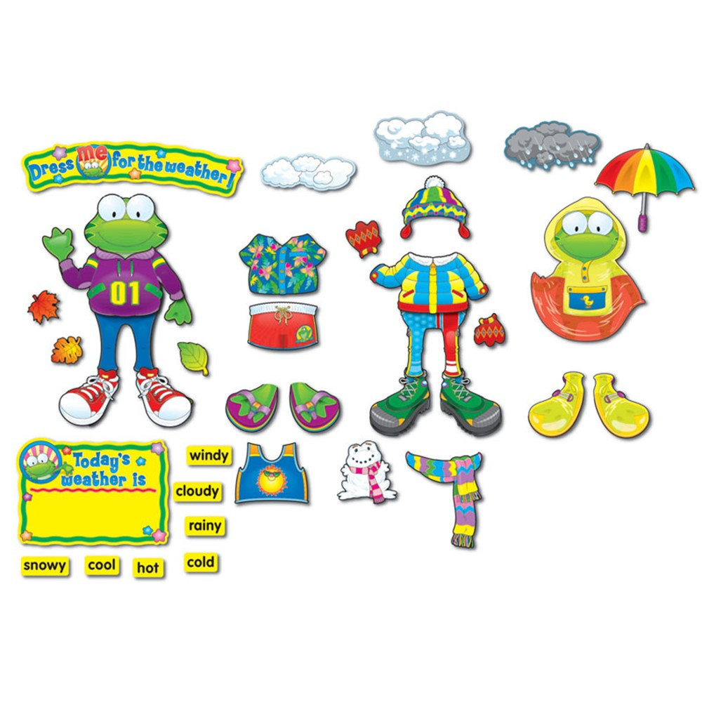 CD-110079 - Weather Frog Bb Sets Gr Pk-3 Early Learning in Science