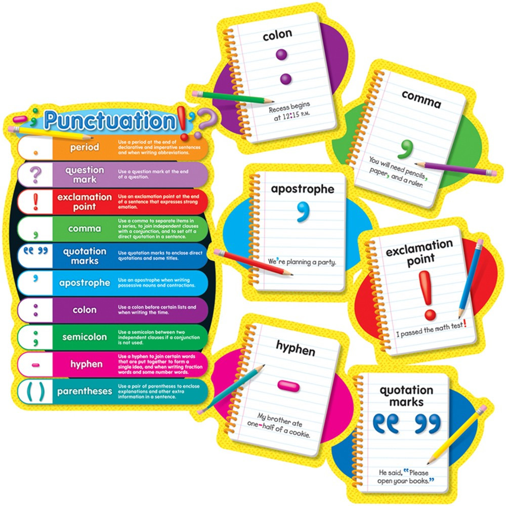 CD-110121 - Bbs Punctuation Gr 2-5 in Language Arts