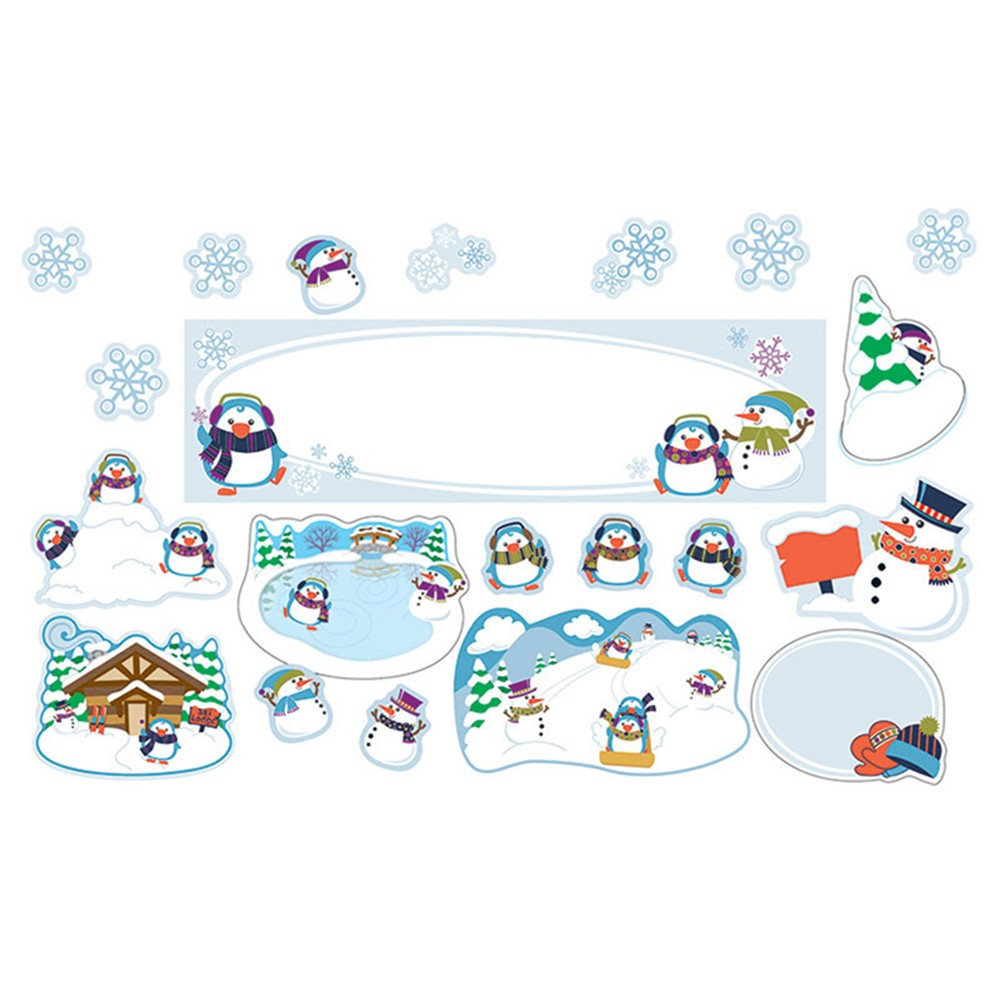 nice Winter Bulletin Board Sets Part - 1: Winter Mini Bulletin Board Set