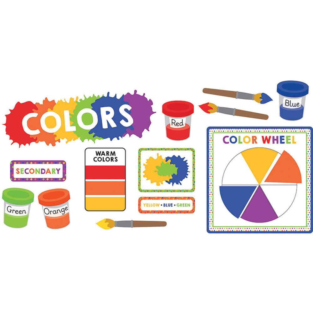 CD-110350 - Colors Mini Bulletin Board Set Gr Pk-5 in Science