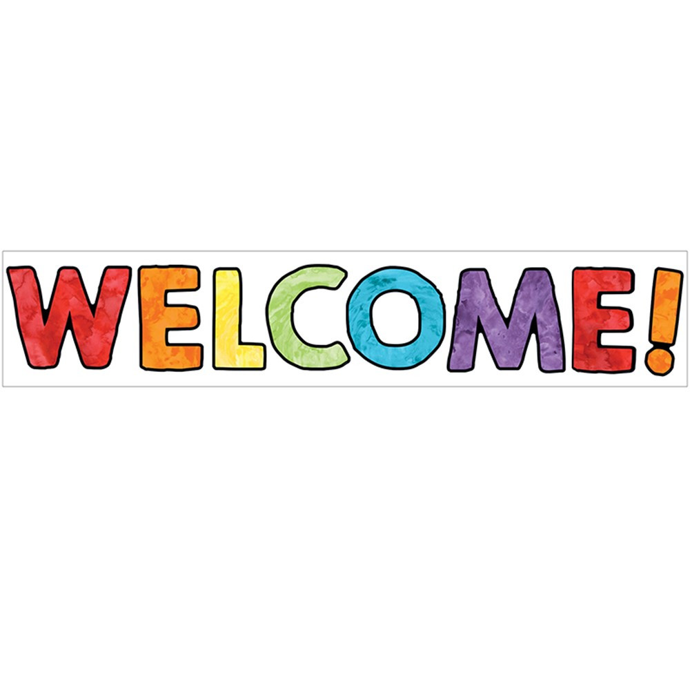 CD-110375 - Celebrate Learning Welcome Bulletin Board Set in Classroom Theme