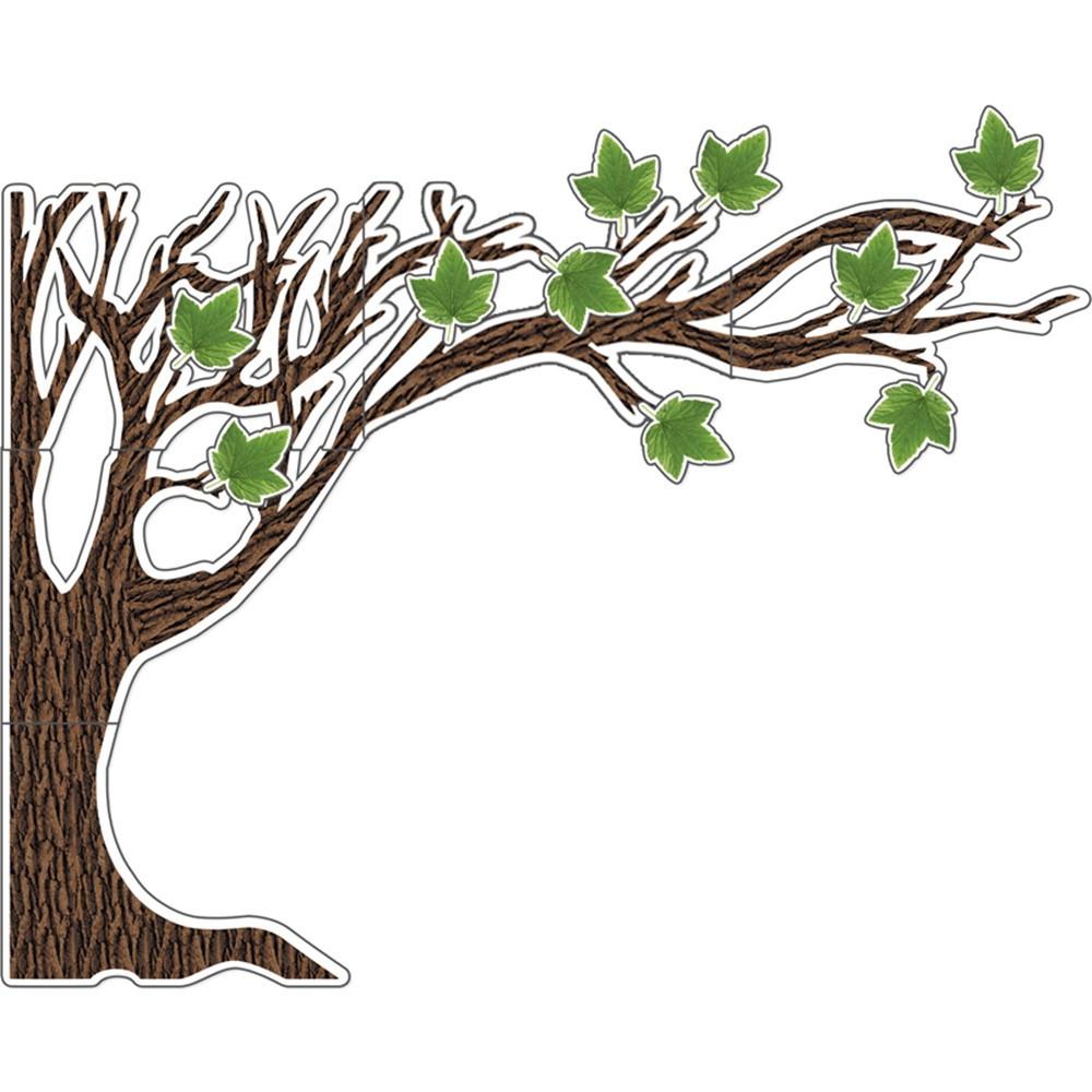 CD-110423 - Big Tree Bulletin Board Set Woodland Whimsy in Classroom Theme