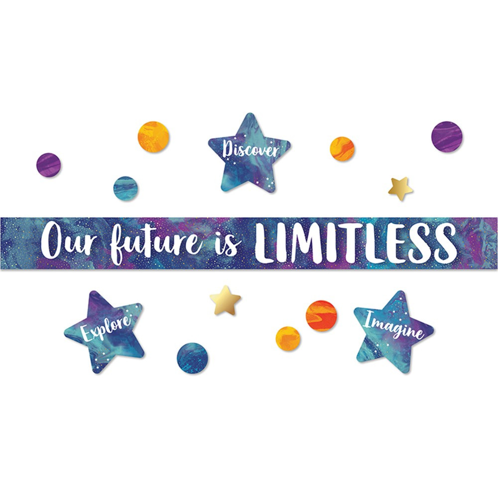 CD-110435 - Our Future Is Limitless Bb St Galaxy in Classroom Theme