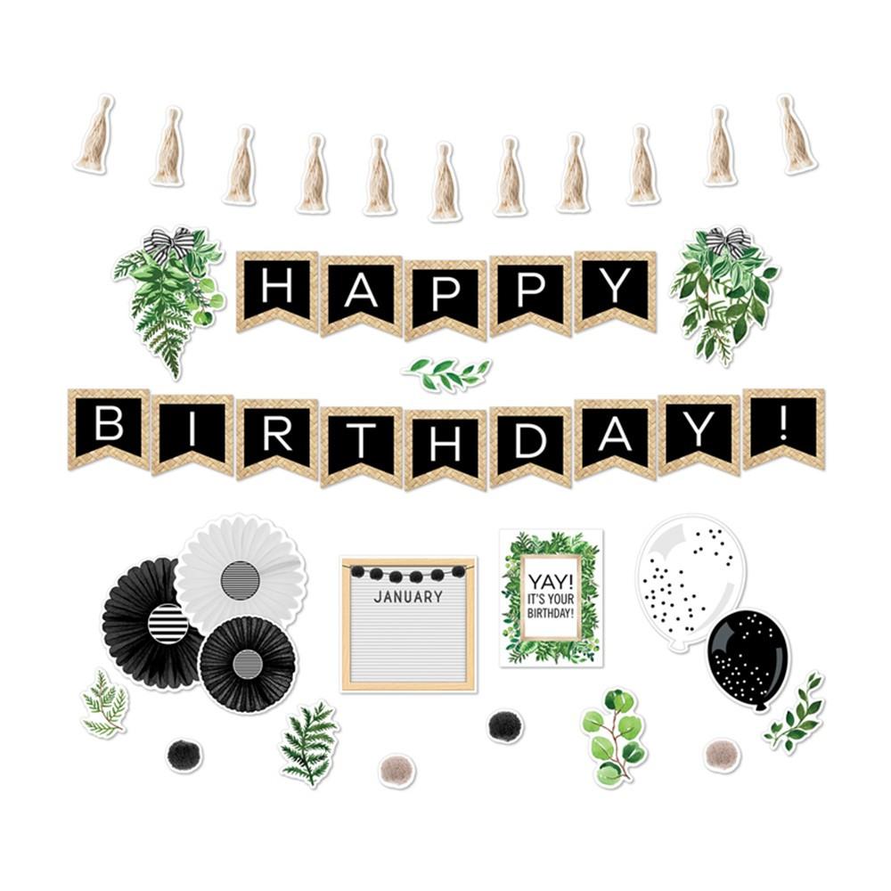 Simply Boho Birthday Bulletin Board Set - CD-110503   Carson Dellosa Education   Miscellaneous